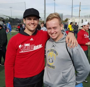 Right: Chris Sailer Kicking Senior Instructor, Drew Basil, is available in Ohio for lessons.