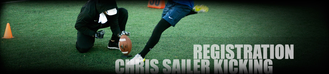 Chris Sailer Kicking - Participants each year in the U.S. Army All-American Games.